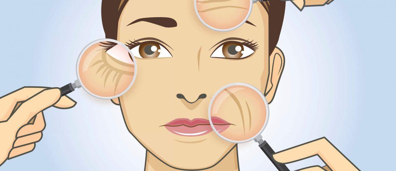 Desenho de mulher em uma consulta com Dermatologista