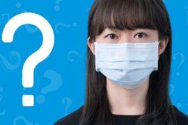 Mulher com dúvidas do que fazer ao suspeitar que esta com coronavírus.